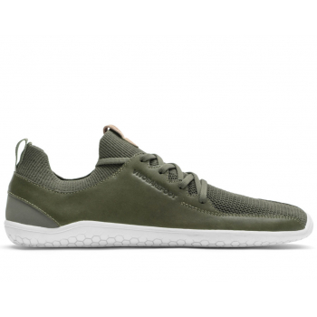 Obrázok pre Vivobarefoot PRIMUS KNIT M Olive Green Leather
