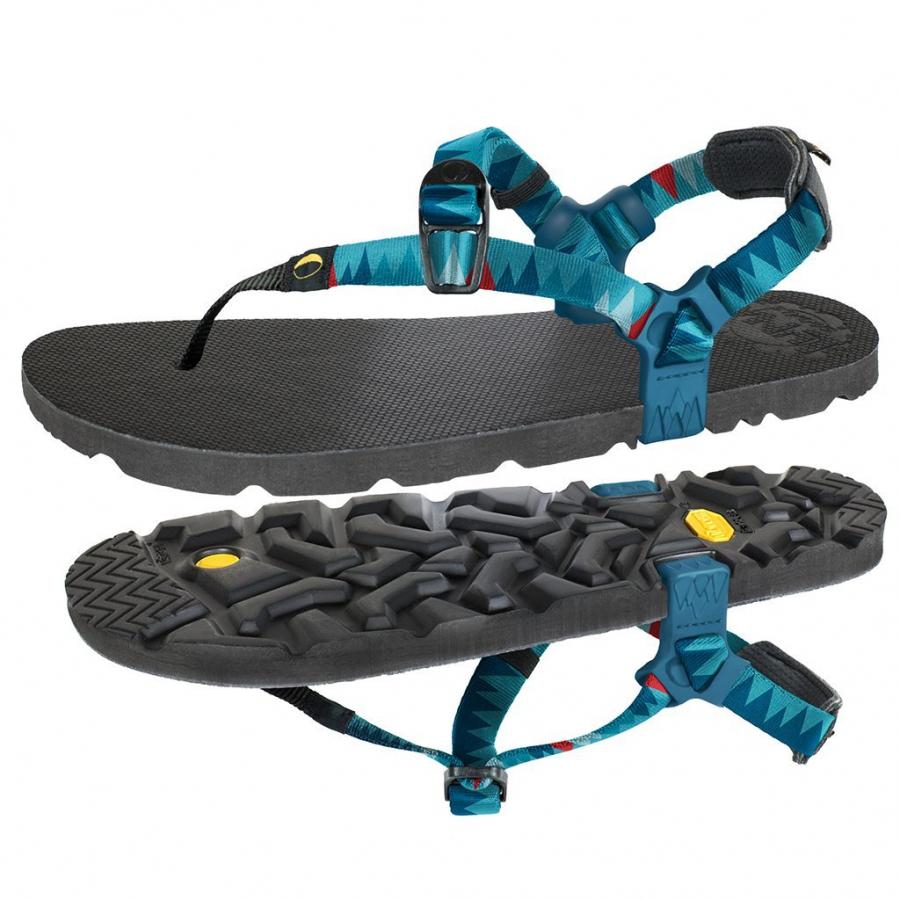 Luna Sandals Mono Winged Mountain Crystal M W